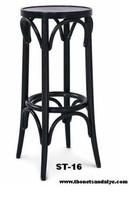 high end wood bar stools