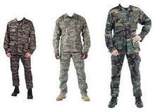 Army Combat Uniform,Battle Dress Uniform, Military Fatigue