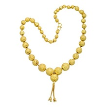 Pearls Cart Exclusive Handmade Graded Gold Balls Necklace