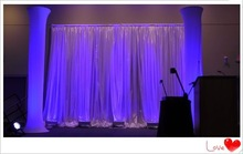 portable pipe and drapes decoration backdrop curtains drapery styles