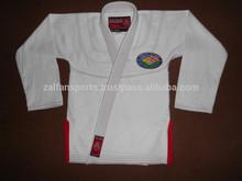 Shoyoroll white with trim custom logo bjj Kimono Replica