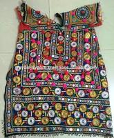 Vintage hippie Afghani pakistani heavy mirror work embroidery banjara gypsy tribal dresses