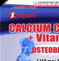 Osteobloc Plus (Calcium Carbonate+Vitamin D3)1500mg chewable tablet