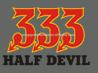 333 half devil heat transfer