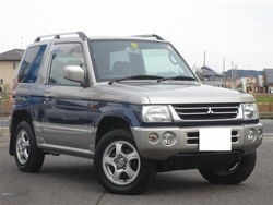 Mitsubishi Pajero Mini Anniversary LTD X H58A 2000 Used Car