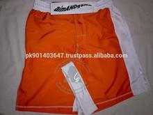 Orange MMA Fight Short