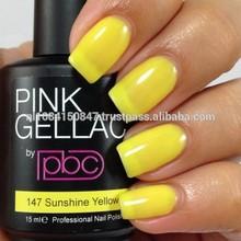 Color147 Sunshine Yellow/Private Label/Professional Gel Nail Polish/Gel Polish/UV/Led Gel Polish Salon Quality