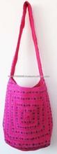 2015 Vintage Trendy Glamorous & Spacious cotton Handbags, vintage ethnic bags & handbags, shoulder handbag satchel purse bag