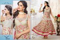 Wholesale Indian salwar kameez-Exclusive salwar kameez - Indian & pakistani style clothing -Bollwyood semi stitched anarkali