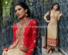 Designer Banarasi styled hand work pcs