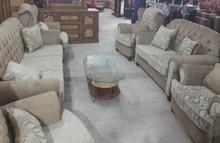 Nine Person Corner Living Room Set