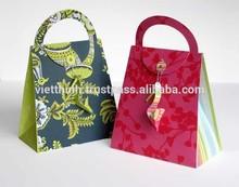 2015 Newest Design customer logo printed Paper Handbags, luxury packaging, luxuy paper bags