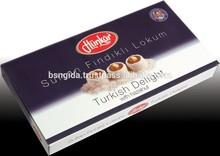 Turkish Delight with Sultan Hazelnut 300 gram gift pack