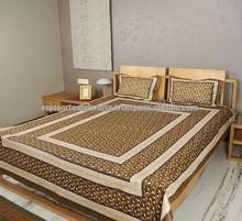 Golden_Printed_Bed_Sheet_Trendy_Bed_Sheet.jpg_220x220