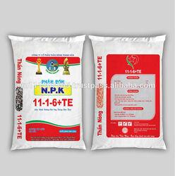 Bag packing for chemcial fertilizer