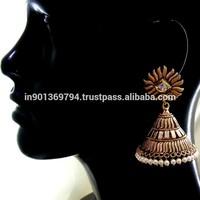 Big Traditional Jhumka Earrings