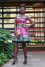 African kanga/leso dress