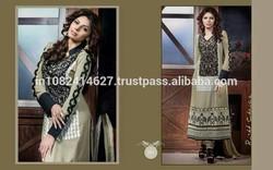 Latest Wholesale Pakistan Long Fashionable Salwar Kameez
