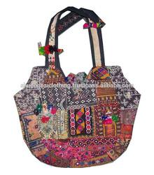 Unique Banjara Tote Bag, Trendy Handbag, Vintage Designer Bag, Shoulder Boho Clutch