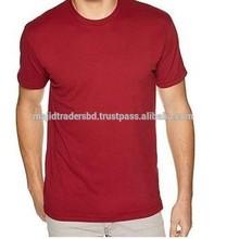 100% Cotton O-Neck Men Blank T-Shirt