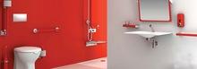Goman bathroom aid for disabled and elderly