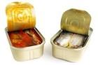 canned sardine and tuna