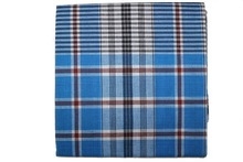 Fancy checked fabric for Handkerchief making