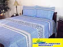 Cotton Indian Bedding Sheet Queen bed sheet Cheap King Indian Cotton Fabric Custom Duvet Quilt Bedsheet