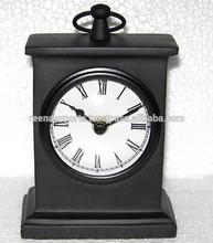 Aluminum table clock, decorative table clock, unique table clock