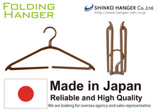 Easy to use companies looking for partners Folding Hanger for domestic use