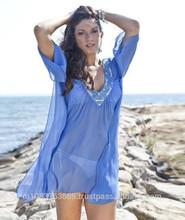 Sexy Short Beach Wear Kaftan Dress Latest desginer clothing