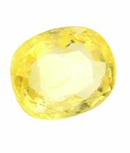 Certified 5.25 Ratti Ceylon Mines Yellow Sapphire Gem Stone- 5.30 Carat