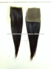 Virgin hair lace closures Vietnam hair