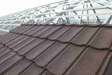 Metal Roofing Tiles with Stone Chips