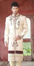 Triveni Dashing Stone Worked Wedding Wear Sherwani 2365