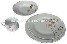 16 pieces dinnerware