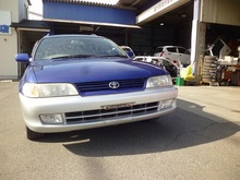 japanese wholesale reasonable high quality products toyota corolla wagon good condition MT japan car import
