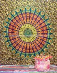 Mandala Hippie Tapestry Wall Hanging, Mandala Tapestry, Mandala Wall Art Mandala Wall Hanging Indian Tapestries