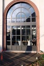 German high class wood window