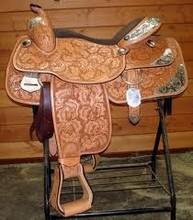 western show pleasure horse saddle