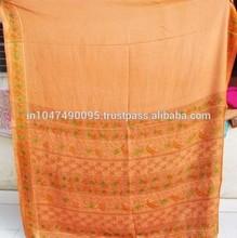 New Arrival 2015 Heavy design work saree silk bollywood ethnic sari sarees indian