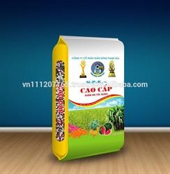 Bopp film bag packing for chemcial fertilizer