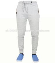 Branco liso suor calças, Alta qualidade corredores