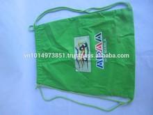 Wholesales Green fashion Drawstring Cotton Tote bag