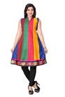 Triveni Fancy multi colored cotton printed Kurti 3528c S