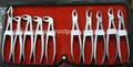 La extracción dental pinzas conjunto/instrumentos dentales para la venta hecha de alemania de acero inoxidable