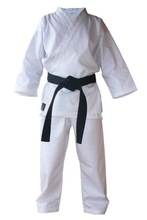 White pure cotton Karate Uniform karate equipment