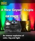 FREE SHIPPING FOR CHAUVETT GEYSER RGB SMOKE AND EFFECT EQUIPMENT