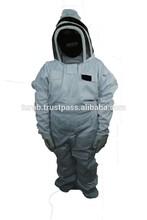PRO'S CHOICE BEST BEEKEEPING, BEEKEEPER SUIT,Vented Bee Suit Air -Eco-Keeper Premium Professional Beekeeping Suit - Large