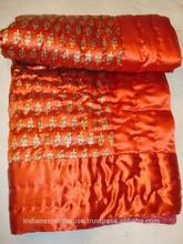 Wholesale polyster Jaipuri rajasthan Single bed Sanganeri print Quilt bolck print quilt
